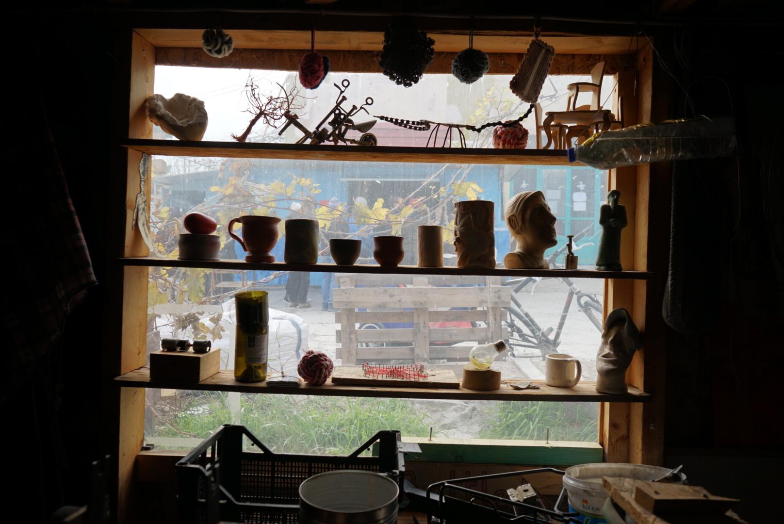 Makerspace window