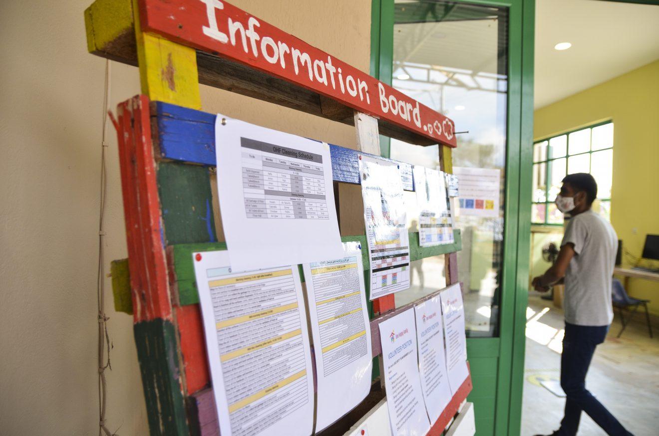 Info board OHF