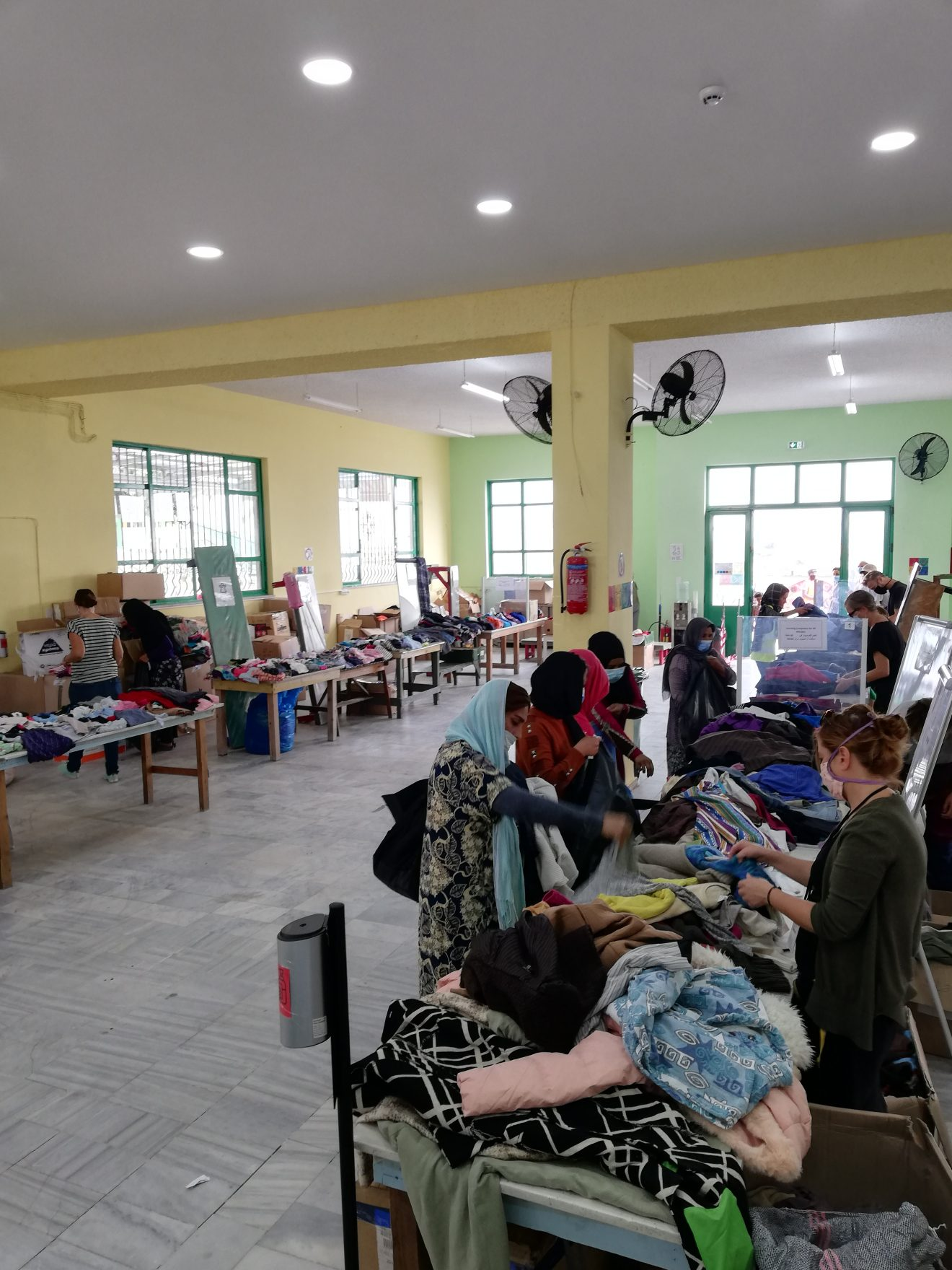 OHF clothes distribution